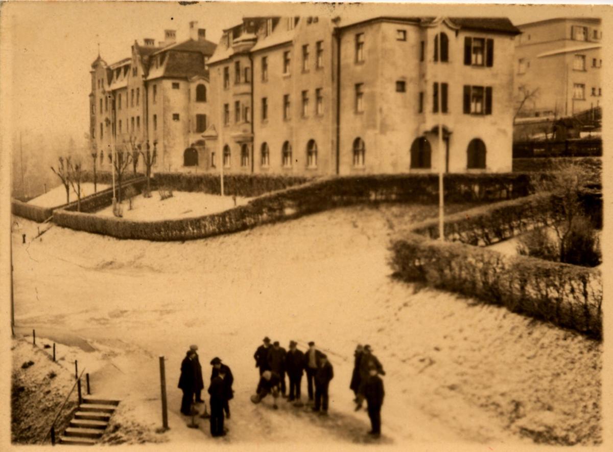 Spitzbergstraße vor 100 Jahren