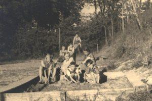 Spielplatz am Spitzberg 1935